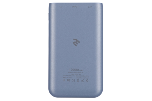 Power Bank 2E 10000 мАг Blue