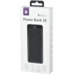 Power Bank 2E 20000 мАч Black