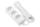 Extension cord 2E with 3 sockets, 1.8m, white