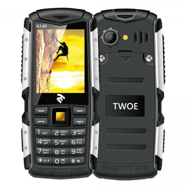 Mobile Phone 2E R240 DualSim Black