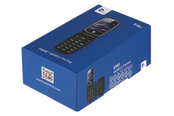 Мобільний телефон 2E E181 DualSim Red