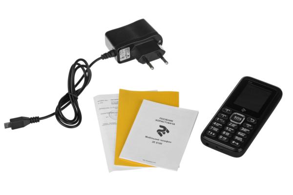 Мобильный телефон 2E S180 DualSim Black