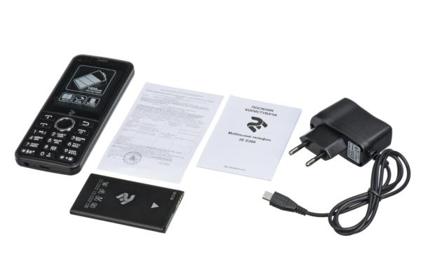 Мобільний телефон 2E E280 2018 DualSim Black