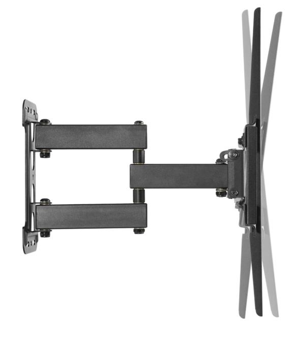 Кронштейн з нахилом та поворотом для ТВ 2E 32-55″