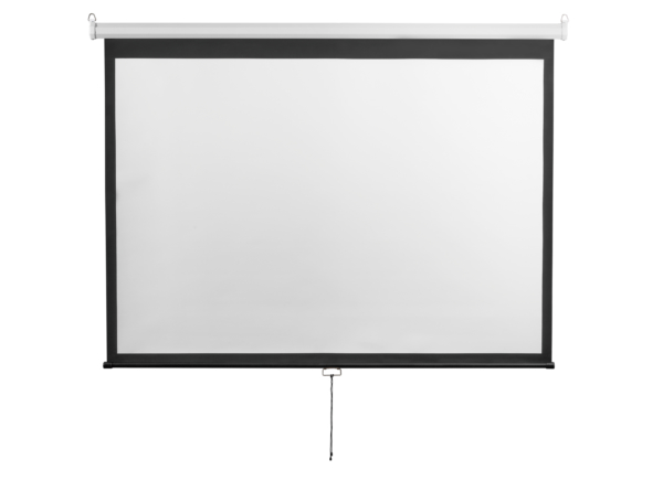 Екран підвісний 2E, 4:3, 120″, (2.4×1.8 м)