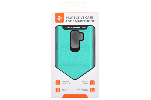 2Е Case for Samsung Galaxy S9+ (G965), Triangle, Mint