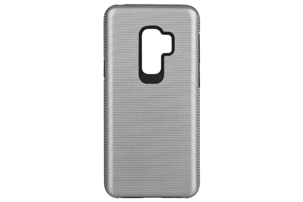 2Е Case for Samsung Galaxy S9+ (G965), Triangle, Silver