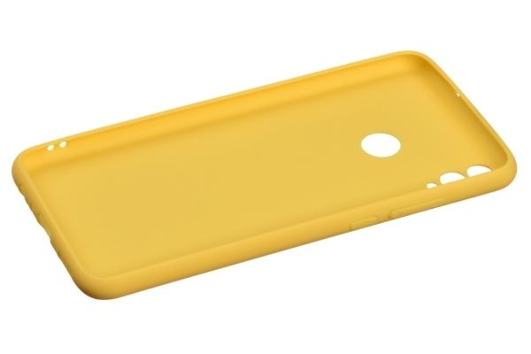 2E Basic Case for Huawei Honor 8X, Soft touch, Mustard