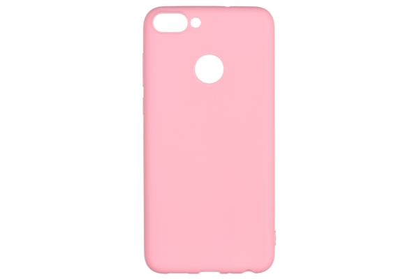 2E Basic Case for Huawei P Smart, Soft touch, Pink