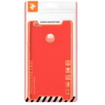 2E Basic Case for Huawei P Smart, Soft touch, Red