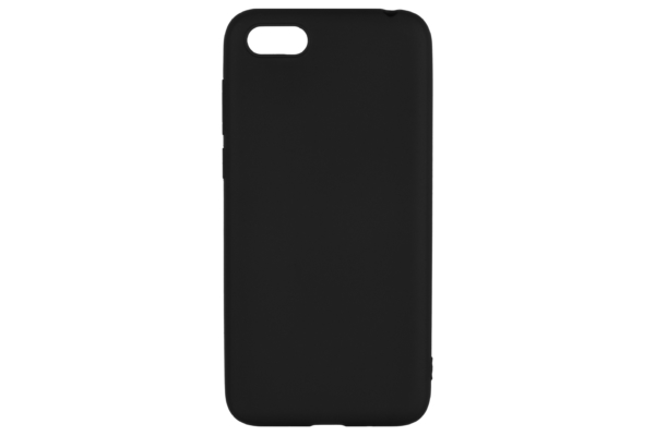 2E Basic Case for Huawei Y5 2018, Soft touch, Black