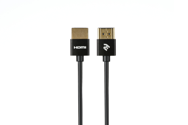 Кабель 2Е HDMI 2.0 Gen 2 Ultra Slim Cable Black 1m
