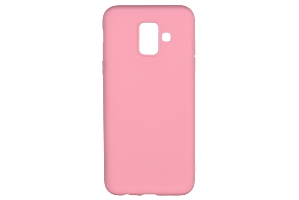 2E Basic Case for Samsung Galaxy A6 2018 (A600), Soft touch, Pink