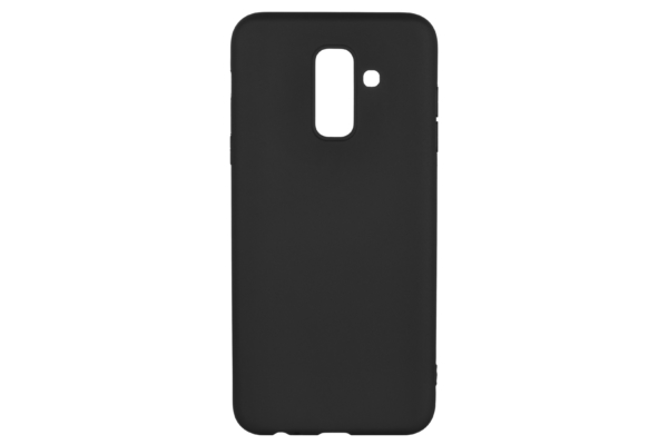 2E Basic Case for Samsung Galaxy A6+ 2018 (A605), Soft touch, Black