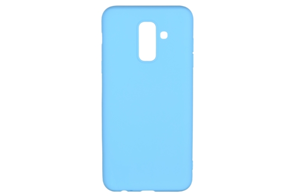 2E Basic Case for Samsung Galaxy A6+ 2018 (A605), Soft touch, Blue
