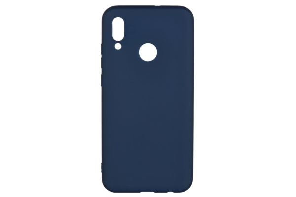 2E Basic Case for Huawei P Smart 2019, Soft touch, Navy