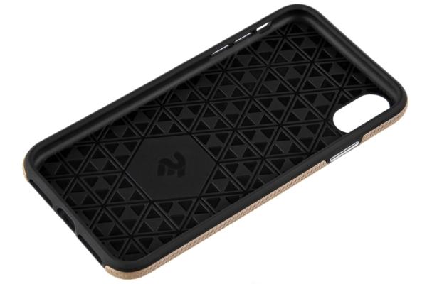 Чехол 2Е для Apple iPhone XS, Triangle, Gold