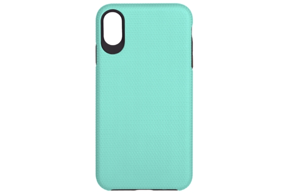2Е Case for Apple iPhone XS, Triangle, Mint