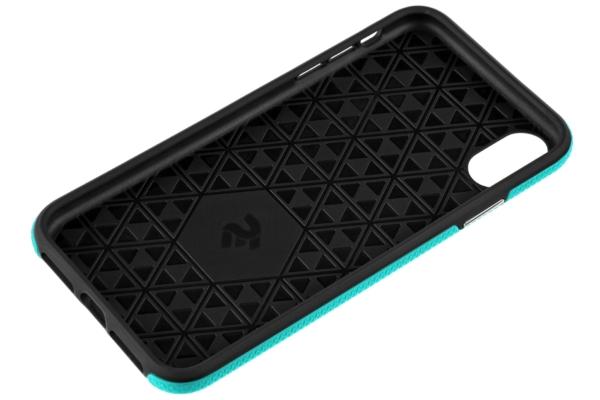 Чехол 2Е для Apple iPhone XS, Triangle, Mint