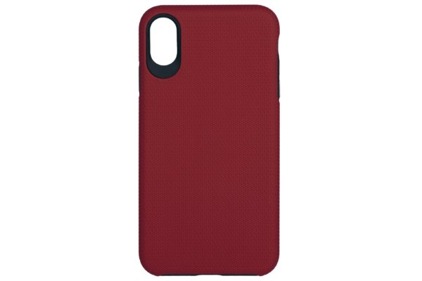 2Е Case for Apple iPhone XS, Triangle, Red