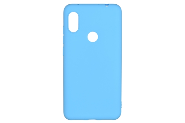 2E Basic Case for Xiaomi Redmi Note 6 Pro, Soft touch, Blue