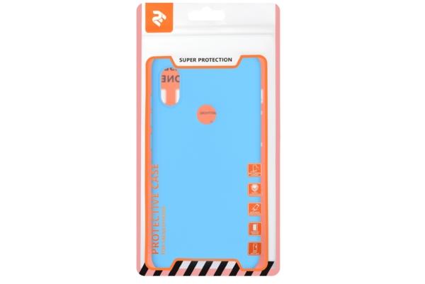 Чехол 2E Basic для Xiaomi Redmi Note 6 Pro, Soft touch, Blue