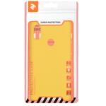 2E Basic Case for Xiaomi Redmi Note 6 Pro, Soft touch, Mustard