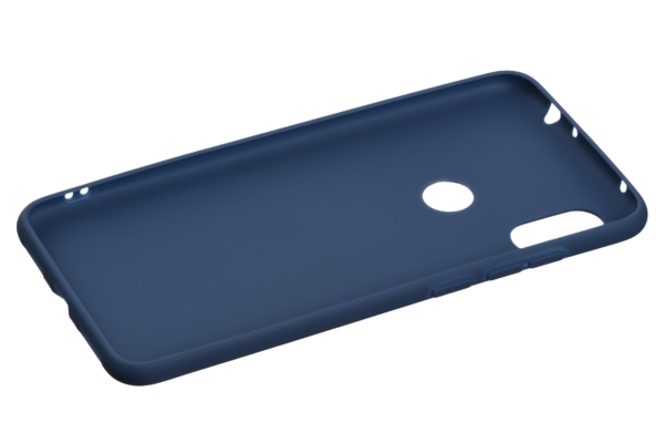 2E Basic Case for Xiaomi Redmi Note 6 Pro, Soft touch, Navy