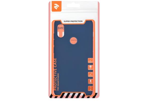 Чехол 2E Basic для Xiaomi Redmi Note 6 Pro, Soft touch, Navy