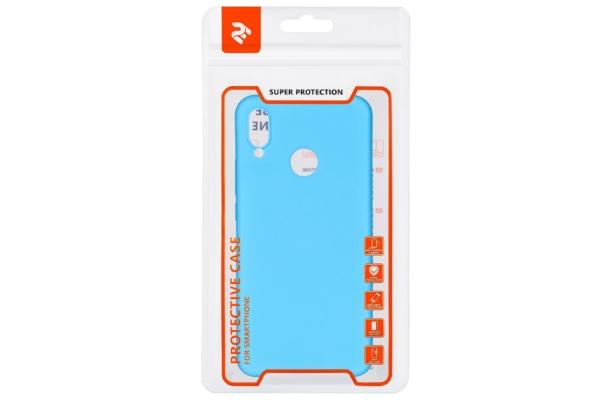 Чохол 2E Basic для Huawei P Smart+, Soft touch, Blue