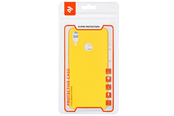 Чохол 2E Basic для Huawei P Smart+, Soft touch, Mustard