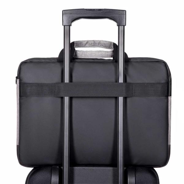Сумка для ноутбука 2E CBN9085GB, Slant 16″, Grey