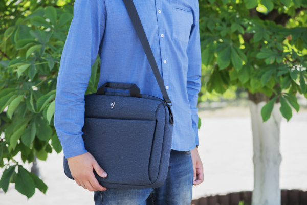 Laptop Bag 2E CBN9165NV, Melange 16″, Navy