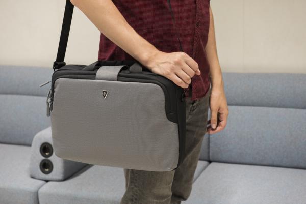 Сумка для ноутбука 2E CBT9185GR, Supreme 16″, Grey