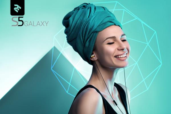 Навушники 2E S5 Galaxy, Silver