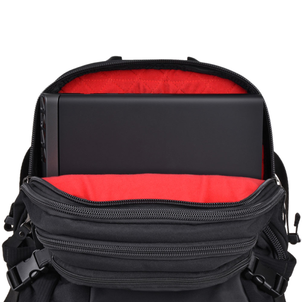 Laptop Backpack 2E BPT9196BK, Premier Pack 16″ Black