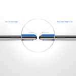 Захисне скло 2E Xiaomi Mi 6, 3D White border FG