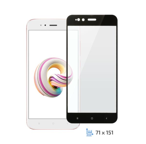 Захисне скло 2E Xiaomi Mi A1, 2.5D black border FG