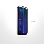 Захисне скло 2E iPhone XR/11 6.1, 3D black border FG