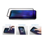 Захисне скло 2E iPhone 7/8 Plus, 3D black border FG