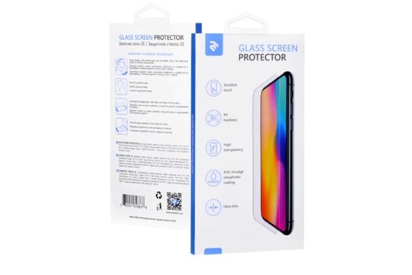 Захисне скло 2E Xiaomi Mi 6, 2.5D white border EG