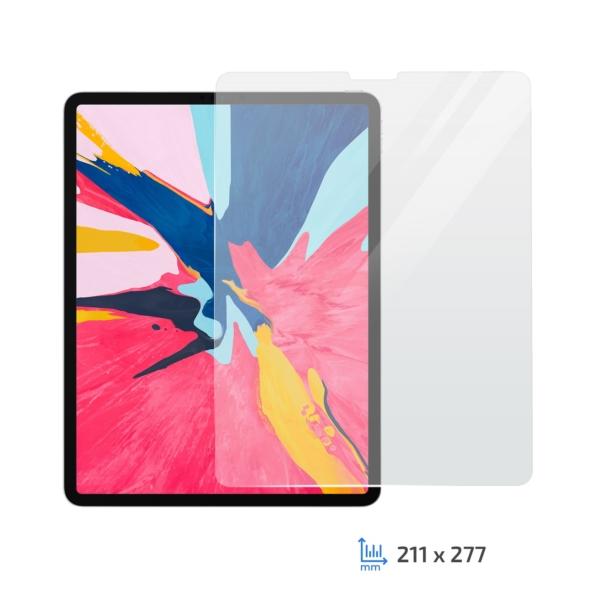 Захисне скло 2E Apple iPad Pro 12.9″ 2018, 2.5D Clear
