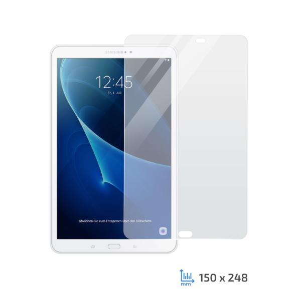 Захисне скло 2Е Samsung Galaxy Tab A 10.1″ (SM-T580/SM-T585), 2.5D Clear