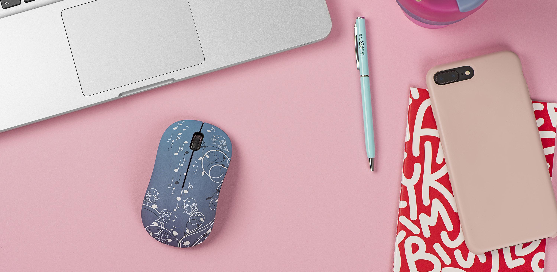 Бездротові миші з візерунками 2E MF209 – незвичайно гарні рішення для роботи