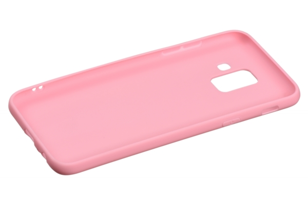 Чехол 2E Basic для Samsung Galaxy A6 2018 (A600), Soft touch, Pink