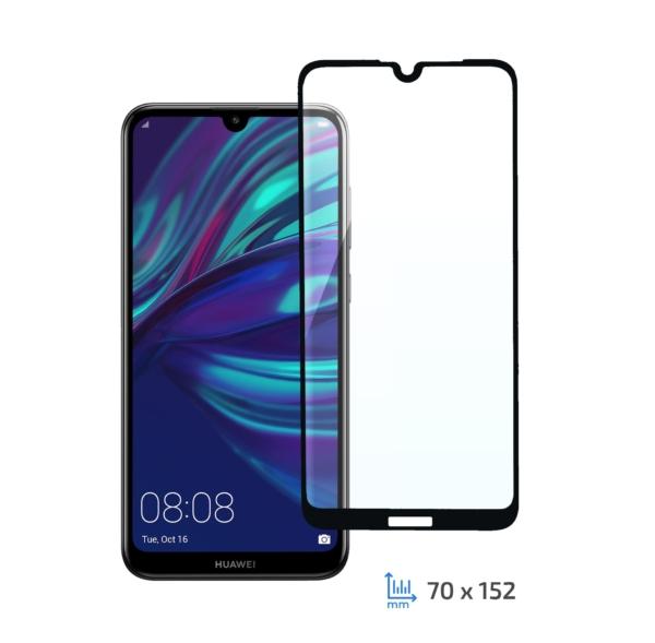 Захисне скло 2E Basic для Huawei Y7 Pro 2019/Y7 Prime 2019/Y7 2019, 3D FG, Black