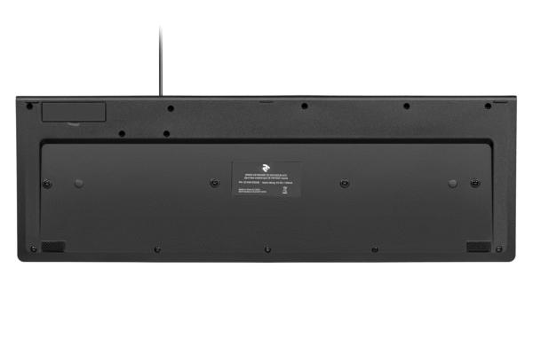 Клавіатура 2E KM1020 Slim Black