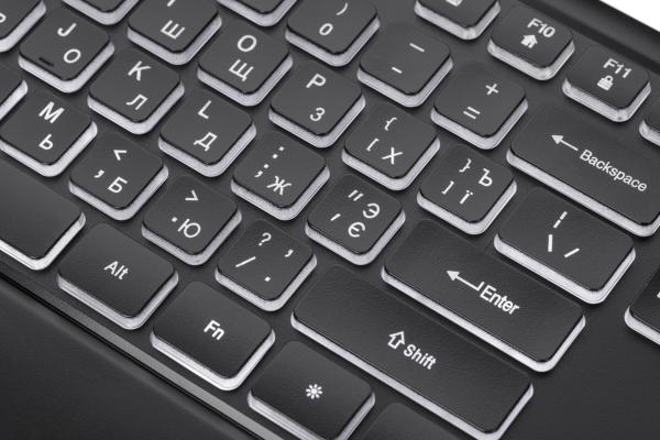 Клавіатура 2E KS110 Illuminated Black