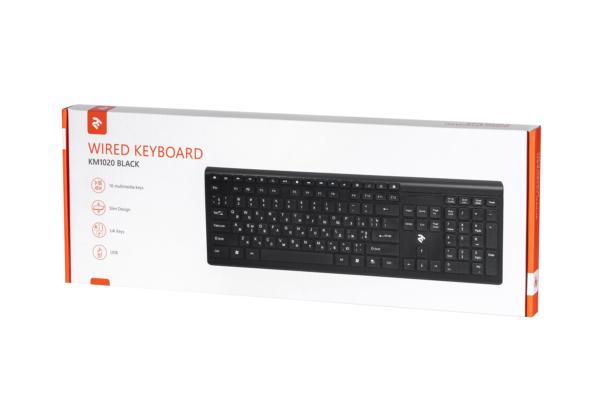 Клавіатура 2E KS210 Slim Black