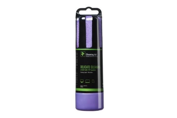 Набір для очищення 2E Violet – Рідина 150 мл та кругла серветка